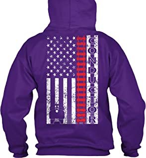 teespring Men's Conductor - Sweatshirt - Gildan 8Oz Heavy Blend Hoodie