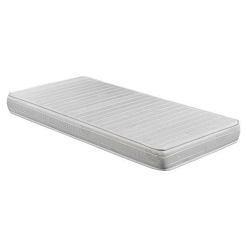 Colchón espuma HR, 90 x 190 x 16 cm, confort en dos caras,