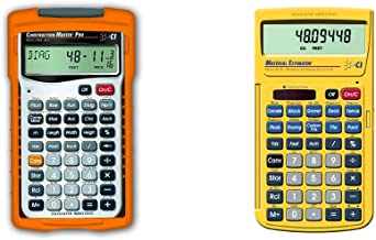 Calculated Industries 4065 Construction Calculator & Industries 4019 Material Estimator Calculator | Finds Project Buildin... photo