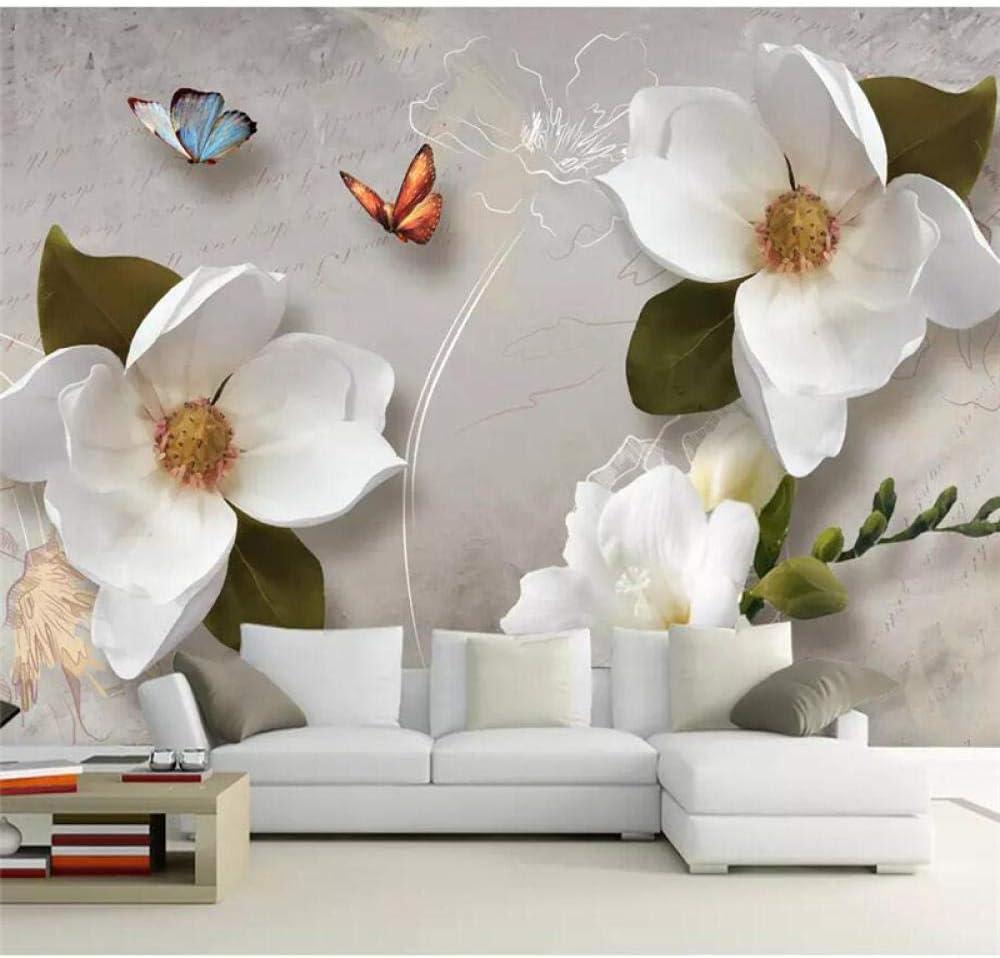 Custom Wallpaper 3D Direct store European Retro Wall 3 Sofa Flower Ranking TOP20 Background