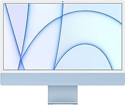 2021 Apple iMac (24-inch, Apple M1 chip with 8‑core CPU and 7‑core GPU, 8GB RAM, 256GB) - Blue