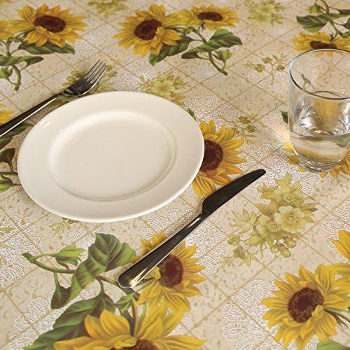 BlauLSS Neue PVC-Kunststoff dicke rechteckige Tischdecke wasserdicht  icht keinen sauberen Tisch Decken pastoralen Stil Tischdecke Tischdecke 137 x 220cm