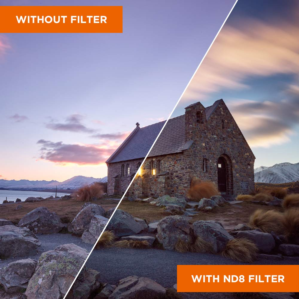 nd1000 filtro nd64 Rollei premium ND filtro set Ø 77 mm a cada 1x nd8