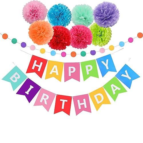 Trolls Happy Birthday Banner We Can Easily Add An: Happy Birthday Decorations: Amazon.com