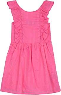 Girls' Patterned Sleeveless Dress