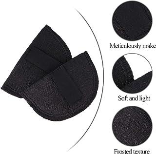 YYIXING Hombrera para Mujer 1 par de Almohadillas Adhesivas Antideslizantes para El Hombro Realzador de Hombros de Silicona Suave para Ropa de Vestir Impermeable Y Resistente Al Sudor