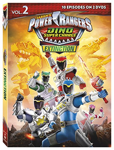 Power Rangers Dino Super Charge Extinction 2 (2 Dvd) [Edizione: Stati Uniti] [Italia]