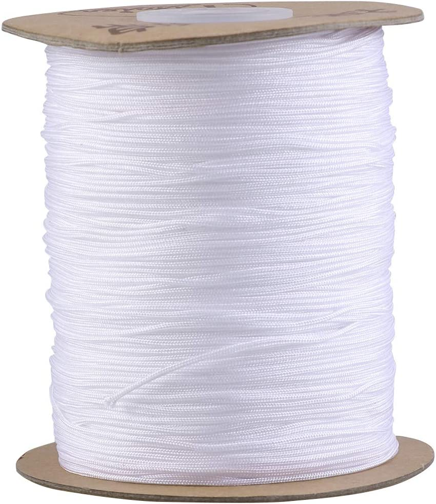 1mm New mail order 250m Round Elastic Cord Beading Jewelry M Thread quality assurance Stretch for