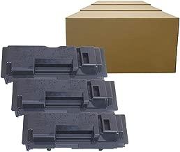 Inktoneram Compatible Toner Cartridge Replacement for Kyocera-Mita TK-18 TK18 KM-1820 CS-1820 FS-1018MFP FS-1020D FS-1118MFP KM-1815 (Black, 3-Pack)