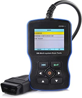 BMW車のためのカーコードリーダーの診断機器の欠陥検出器C310カラースクリーン検出器