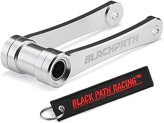 BlackPath - Fits Honda Lowering Link Kit CRF450R + CRF450X + CRF250X Motorcycle Rear Drop 140mm Links (Silver) T6 Billet