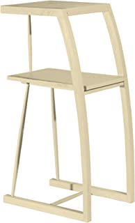 Asta Solid Wood Indoor Plant Stand, Phone Stand, Samba Collection, GS-381/BGE (Beige)