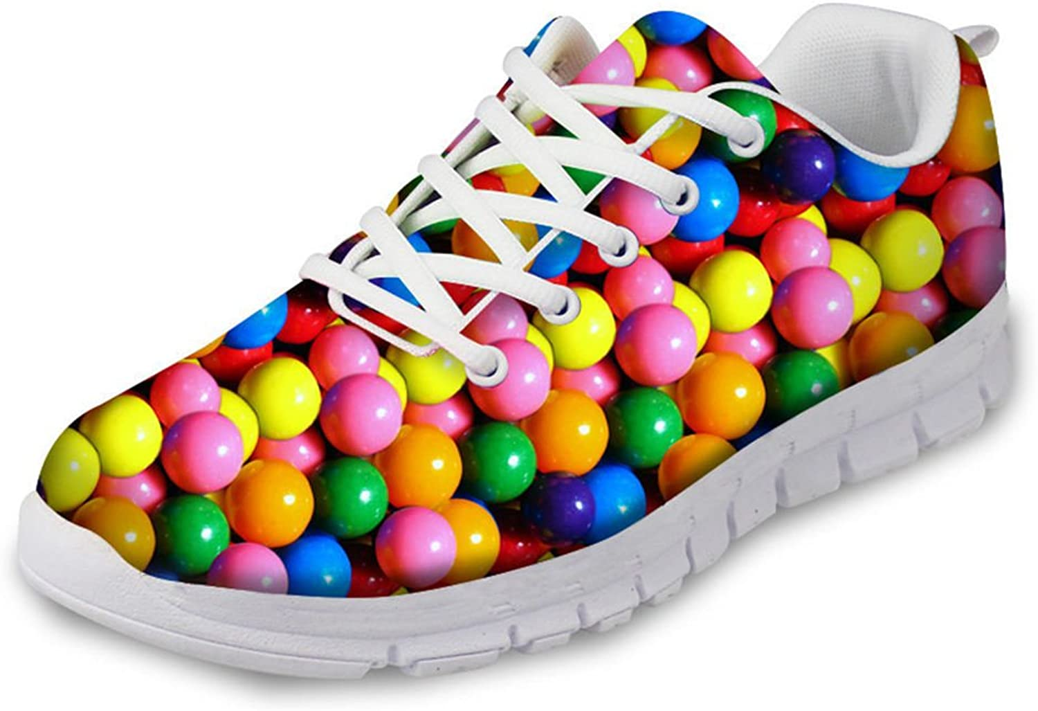 Advocator Fashion Candy 3D Printed Female Sneakers Women's Jogging Running shoes