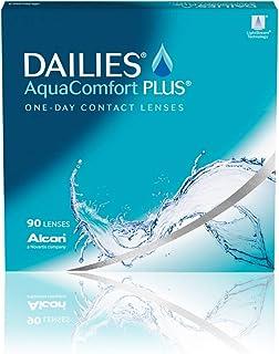Dailies AquaComfort PLUS (90 Lenses/Pack) - One Day Contact Lenses - Various Powers - Dailies Contact Lenses (-2.75, 8.7, ...