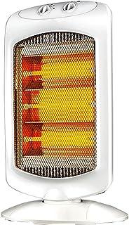 LI HAO SHOP Calefactor portátil, Calefactor doméstico, Calefactor para Sala de Estar, Calefactor de Tubo de Cuarzo con Mini Calefactor Vertical, 1200 W, Blanco, 34 * 13 * 66 cm