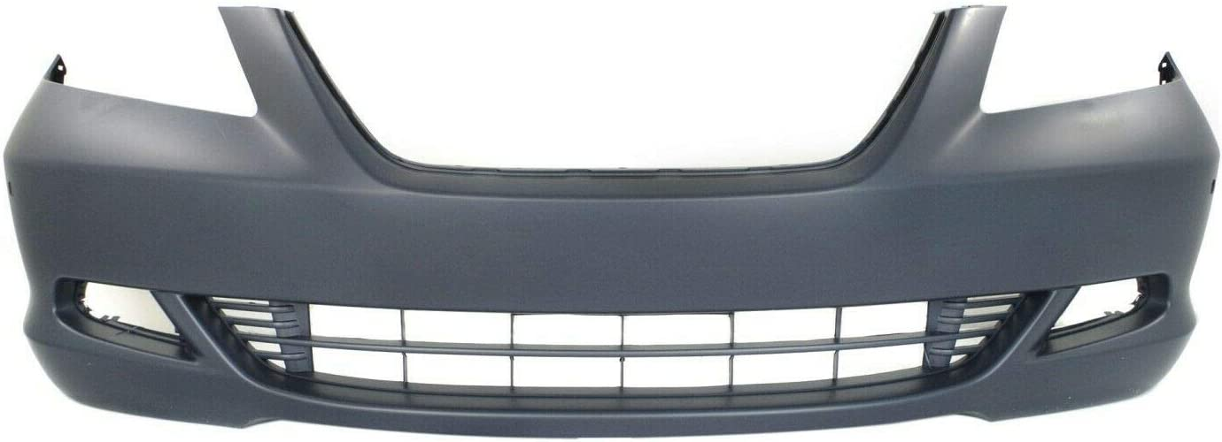SCKJ Front Bumper Cover Year-end gift Compatible withw Max 82% OFF CAPA fog holes lamp