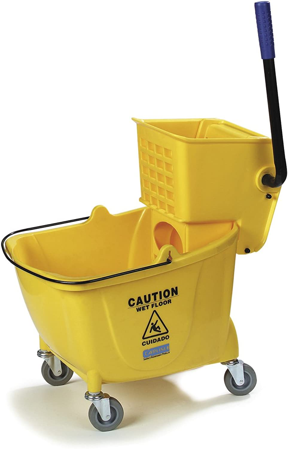 UltraSource 509250 Bucket Wringer with Side Press, 35 Quart Capacity