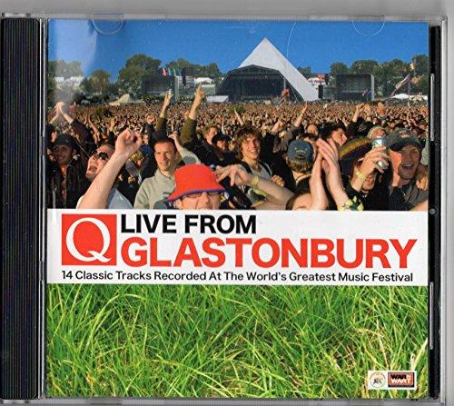 Q Magazine CD July 2007 Live From Glastonbury - PJ Harvey, Stereophonics, The Killers etc.
