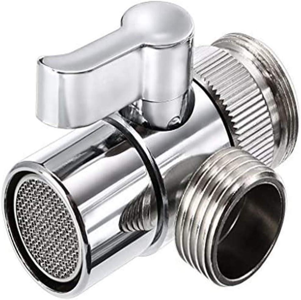 Polished Chrome Brass Sink Valve Sale item Ki 25% OFF Splitter Diverter for Faucet