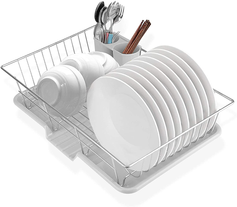 Cocoarm Dish Drying Rack shopping Metal Spasm price Storage Utens Holder Kitchen