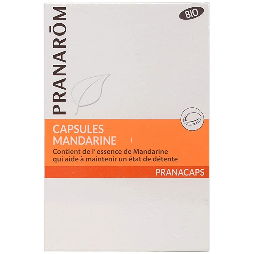 我慢する純度行列プラナロム マンダリンカプセル 30粒 (PRANAROM サプリメント)