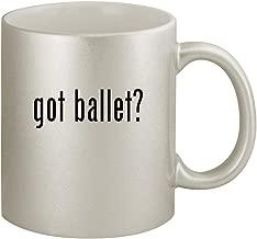 got ballet? - Ceramic 11oz Silver Coffee Mug, Silver