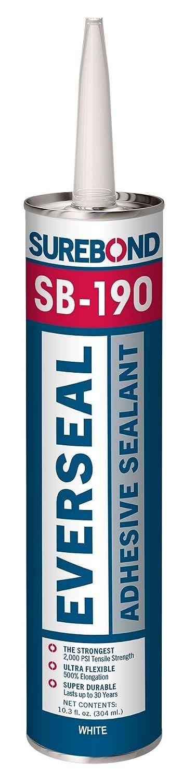 Surebond Pick-Proof Adhesive Sealant Award-winning store Excellence 10.3oz SB-190 T Wh White