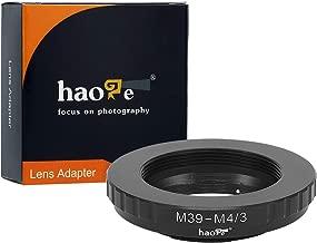 Beschoi Lens Mount Adapter for Leica M39 39MM x1 Thread Leica Screw Mount Lens to Fujifilm FX Mount X-Series Camera Body Fits Fuji X-Pro1 X-Pro2 X-E1 X-E2 X-M1 X-A1 X-A2 X-A3 X-A10 X-M1 X-T1