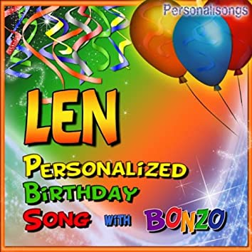 Len Personalized Birthday Song With Bonzo