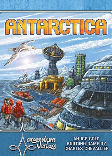 Argentum Verlag ANTARTIDA Base Mesa Juego de Mesa (Inglesa)