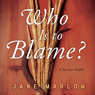 Who Is to Blame? audiobook cover art