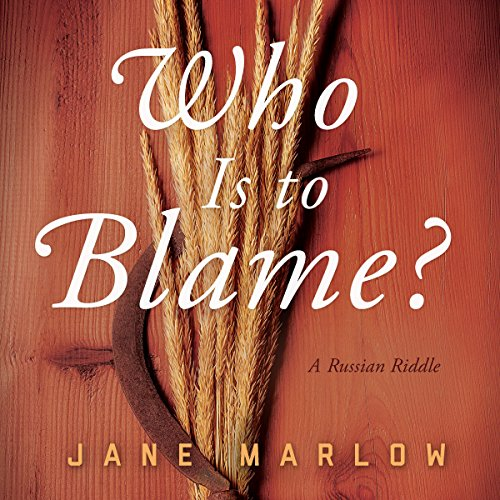 Who Is to Blame?  By  cover art