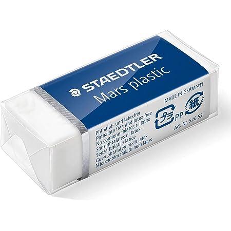 STAEDTLER Mars Plastic Eraser Pack Of 3/Plastic Mini White