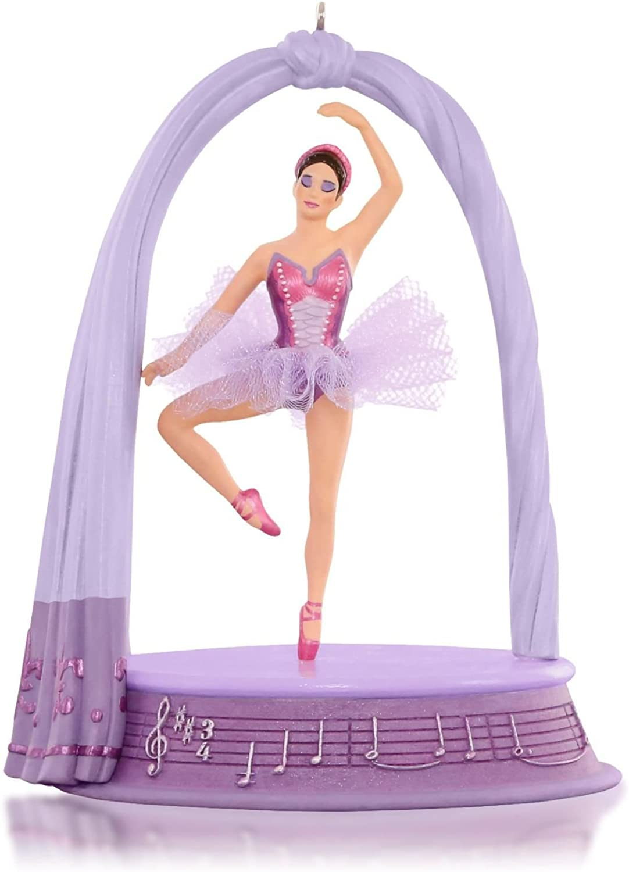 Hallmark Sugarplum Dreams Nutcracker Ballerina Musical Ornament 2015