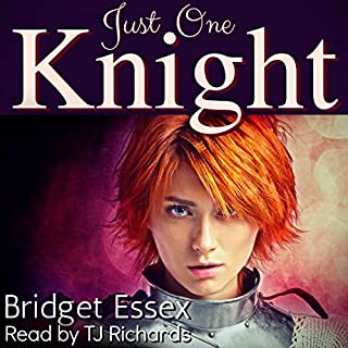 Just One Knight audiobook cover art