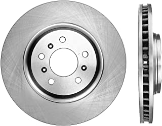 R1 Concepts KEDS11740 Eline Series Cross-Drilled Slotted Rotors And Ceramic Pads Kit Front