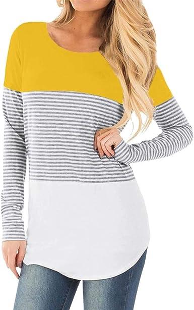 Ropa De Embarazadas Modernas Invierno YiYLunneo Sudadera de Lactancia con Capucha Maternidad premamá para Mujer Camiseta de Dormir Pijama