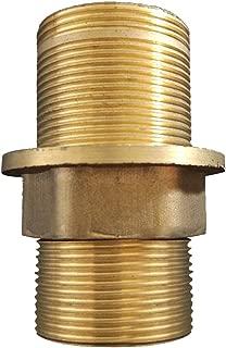 MonkeyJack Faucet Fittings Nipple Locknut Kit Deck Mount Basin Tap Single Hole 4 Sizes - 6cm
