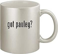 got pauley? - Ceramic 11oz Silver Coffee Mug, Silver
