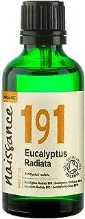 Naissance Eucalyptus Radiata Essential Oil 50ml Certified Organic 100% Pure