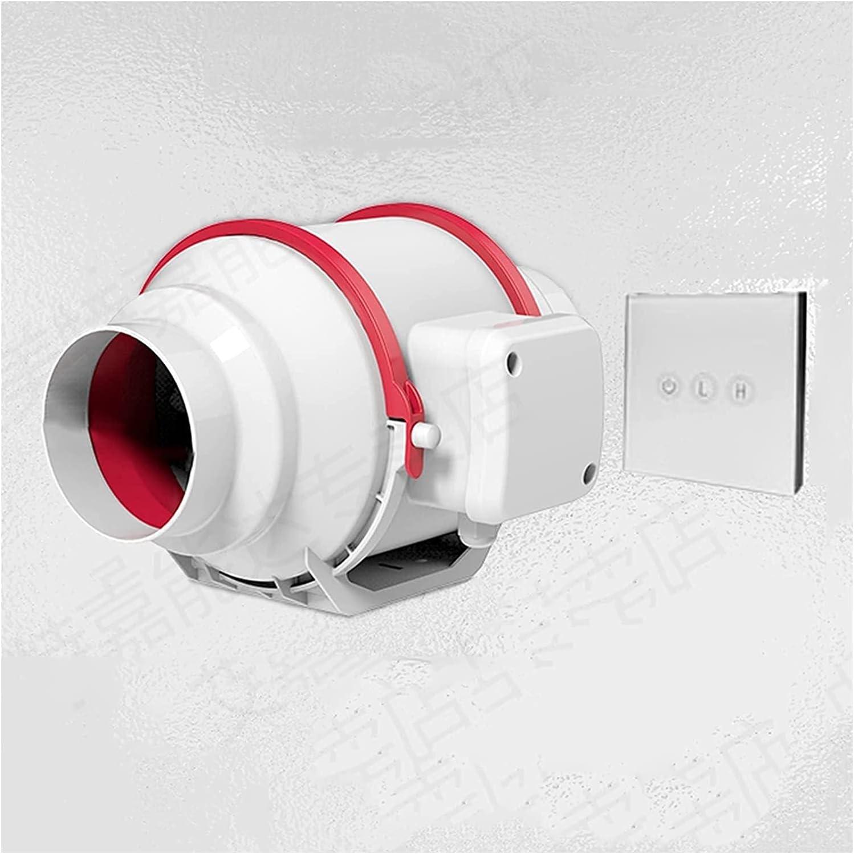 Ventilador de escape industrial Techo Conducido Fan de escape de la cocina Portátil Fan de escape de la pared Portátil Ventilador de escape de la pared para la oficina Cocina de baño 420m³ / h