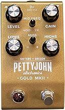 Pettyjohn Electronics Gold MKII Guitar Overdrive Pedal