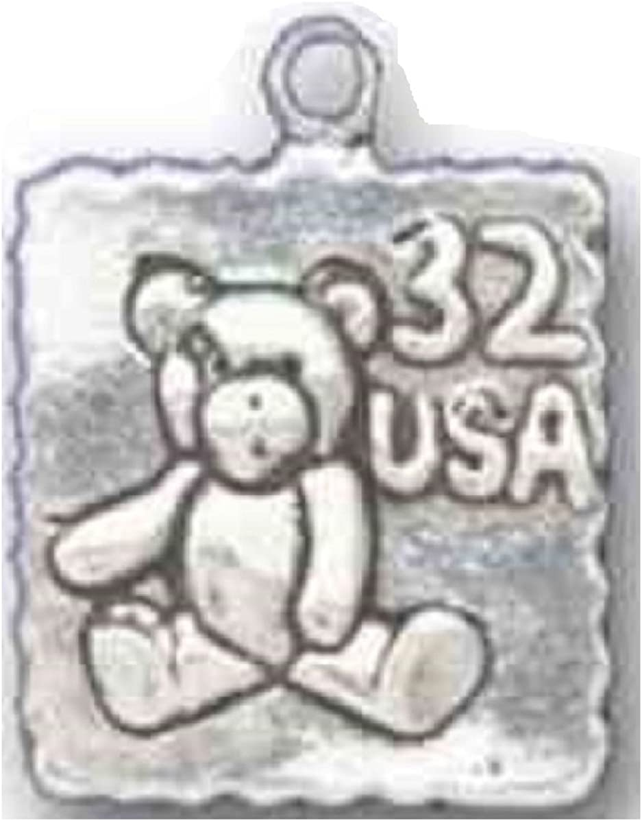 Sterling Silver Charm Bracelet Excellence Attached Postage Carriers Inventory cleanup selling sale 3D Mail