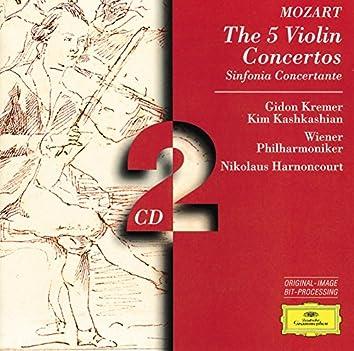 Mozart: The 5 Violin Concertos; Sinfonia Concertante