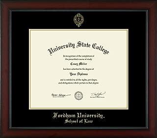 fordham diploma frame