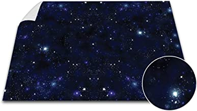 Battle Game Mat - 48x72 - Dungeons & Dragons Tabletop Role Playing Map - Wargaming DnD - RPG Dust Warfare & Flames of War - Miniature Figure Board Games - 40k Warhammer Gaming Vinyl (Blue Space)
