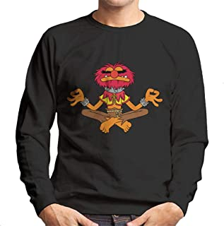 Disney Classic The Muppets Animal Total Zen Men's Sweatshirt