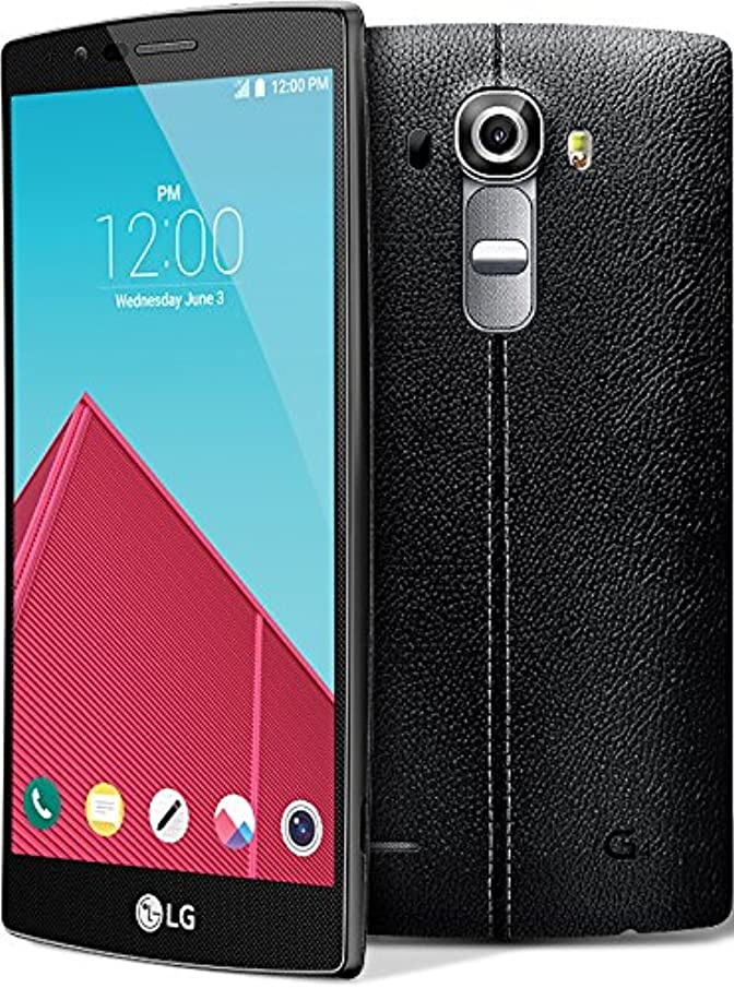 LG G4 H810 GSM Unlocked Android 4G LTE 32GB Smartphone (Renewed) (Leather Black)