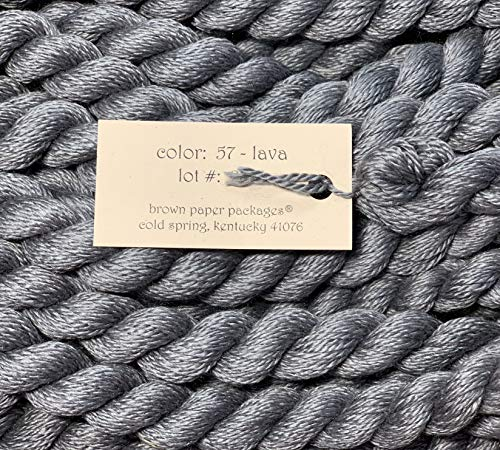 SILK & IVORY-- LAVA-57--1 SKEINS WITH THIS LISTING
