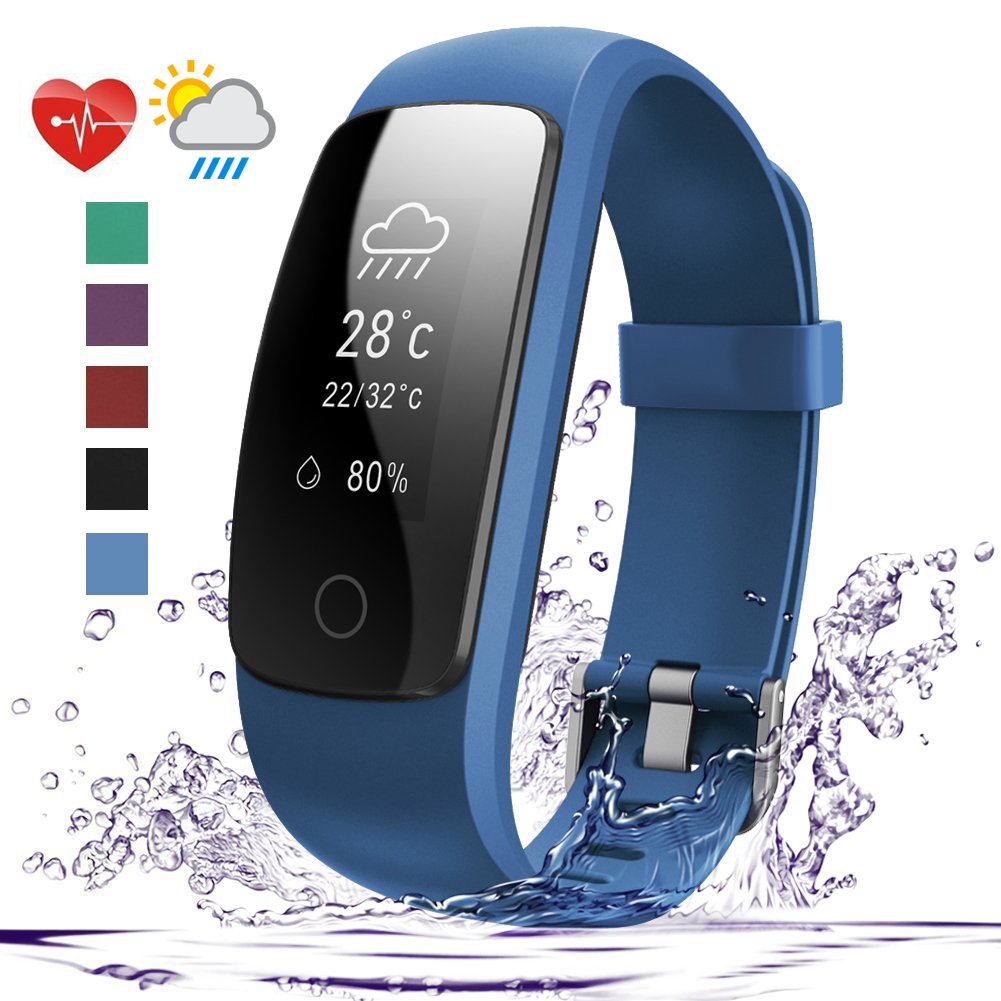 007plus D107Plus Waterproof Pedometer Wristband